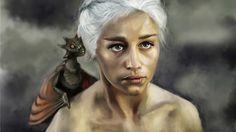 Mother of Dragons, Valentina Reale on ArtStation at https://www.artstation.com/artwork/8oxGm
