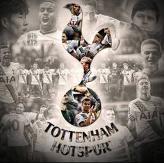 montage 25/02/2016 Tottenham Hotspur Wallpaper, Tottenham Hotspur Football, London Pride, Spurs Fans, White Hart Lane, Football Memes, North London, Soccer Players, Premier League