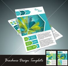 elemento de diseño de folleto, vector illustartion — Ilustración de stock #11642810
