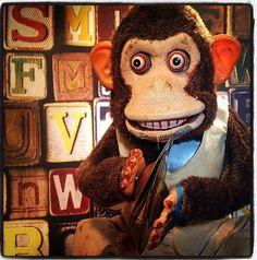 Scary Clapping Monkey (photo by cjones) Toy Monkey, Monkey Art, Pretty Anime Girl, Monkey Business, Monkeys, Children's Books, Toy Story, Vintage Toys, Pixar