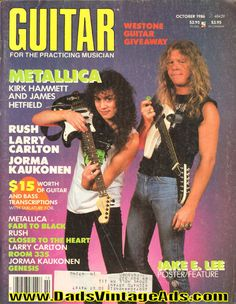 1986 October Guitar for the Practicing Musician Magazine Back-Issue