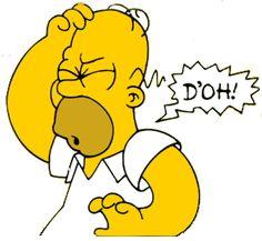 Homer Simpsons Doh