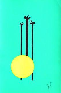 coisas de pintura:  acrílico sobre papel 1/2016 portugal