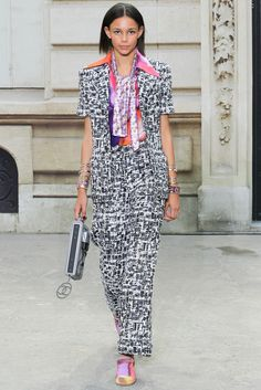 Chanel Primavera/Verano 2015 Semana de la Moda de París ….. Chanel Spring/Summer 2015 Paris Fashion Week