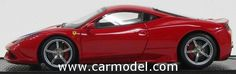 BBR-MODELS BBRC132 1/43 FERRARI 458 ITALIA SPECIALE FRANKFURT MOTORSHOW 2013 - WITH STRIPES