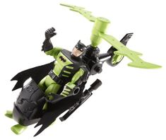 Batman The Brave and The Bold Jungle Recon Batcopter Vehicle with Batman Figure * You can get additional details at the image link.