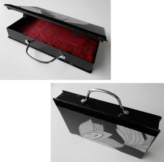 Use your old VHS tape holders to make beautiful purses :)