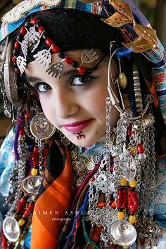 Africa | Timazighin Berber Woman Libya. | © Aimen Ashur Photography #People of #Morocco - Maroc Désert Expérience tours http://www.marocdesertexperience.com