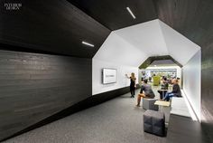 A web of Gensler offices generates a network of technology workplaces.  Photography by Michael Townsend/Gensler.