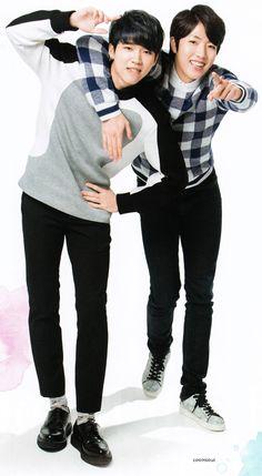 Woohyun & Sungyeol – K-BOY Paradise Magazine Vol.16 ♡