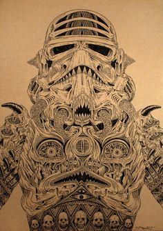 Alt-Art: Satanic Storm Trooper.