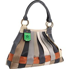 Harveys Seatbelt Bag - Treecycle Large Stella Hobo- MY FAVORITE, and the one I carry myself! Avail. At Nature's Karma, Carmel City Center.