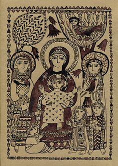 Religious Images, Religious Icons, Religious Art, Spiritual Paintings, Bible Illustrations, Spiritus, Byzantine Art, Catholic Art, Art Icon
