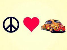 Peace. Love. And VDub!