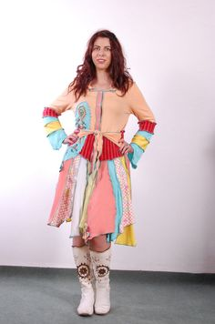 spring summer autumn  coat Katwise style by avacolour on Etsy, $130.00
