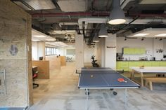 Fortscale Offices – Tel Aviv security startup Fortscale in Tel Aviv, Israel.
