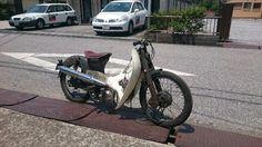 Honda Cub, Mini Bike, Custom Bikes, Cubs, Biker, Motorcycles, Strollers, Motorbikes, Puppies