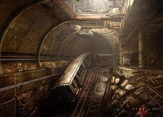 Dmitry Glukhovsky - Metro 2033 - Comment by Torby. _____________________________ Bildgestalter http://www.bildgestalter.net