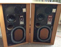KEF Concerto Stereo Speakers Vintage 1973 | eBay