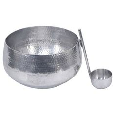 Punch Bowl with Ladle 8L Silver - Threshold™