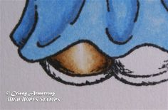 Crissy's Art & Heart: Leaving White Highlights with Copics Tutorial 1
