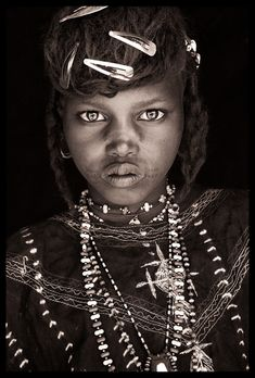 Africa |  From the West African Societies Portraits by John Kenny.