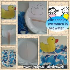 Alle eendjes zwemmen in het water.... Pond Life, Eric Carle, Little Ones, School, Kids, Vader, Ideas, Sea And Ocean, Animaux