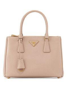 6ef159ddc64e Prada Saffiano lux small double-zip tote bag Prada Purses, Prada Handbags,  Small