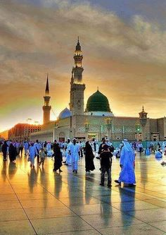 Our Nabi in this beautiful City