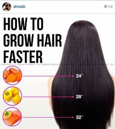 #long_hair : How To Get Faster Growing Hair