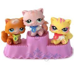 ✵Littlest Pet Shop✵7 PC✵153 878 460✵PERSIAN KITTY CAT TOTALLY TALENTED SHOW✵1ST✵