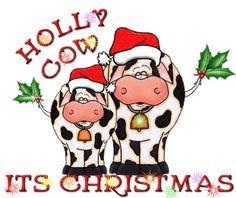 christmas cow | Cowboy Christmas, Christmas Rock, Christmas Card Crafts, Christmas Drawing, Christmas Paintings, Christmas Animals, Christmas Signs, Xmas Cards, Christmas Humor