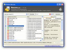 Programas y Herramientas para Recuperar Datos borrados o dañados http://www.recuperaryrecuperacion.info