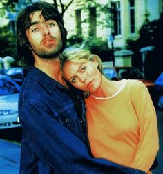 Liam and Patsy Oasis Music, Liam Gallagher Oasis, Heather Locklear, Beady Eye, Two Of A Kind, Sharon Stone, Britpop, Band Photos, Cool Bands