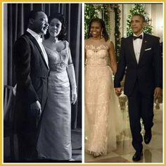 """My post for Black History Month, I think it speaks for itself. """"A Night of Elegance with A King and A President"""" ~ Kimberley Bracey"""