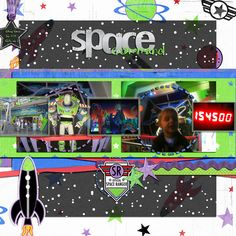 Buzz Lightyear's Space Ranger Spin - Page 7 - MouseScrappers.com