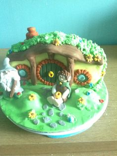 Lord of the rings hobbit cake