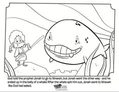 1000 images about Bible Jonah & the Whale on Pinterest