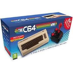 The best selling home computer has been reborn with the Mini console. This mini Commodore comes packed with 64 games pre-installed, joystick, all in HD. Home Computer, Best Computer, Cabo Hdmi, Joystick, Mini Usa, Cyber Week Deals, Deep Silver, Gremlins, Video Game Console