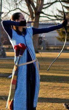 DIY archer dress/vest