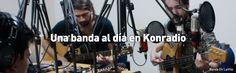 """Durante el mes de junio, la emisora Konradio trajo a su estudio a más de 20 bandas nacionales seleccionadas para el XIX Festival Rock al Parque, en su franja especial """"Una banda al día""""."""