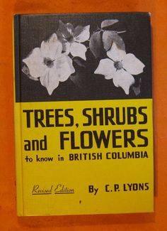 Trees Shrubs and Flowers to Know in British by Pistilbooks on Etsy