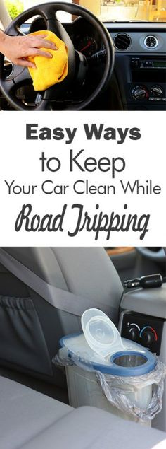 Easy Ways to Keep Your Car Clean While Road Tripping| Cleaning, Car Cleaning Hacks, Car Cleaning Tips and Tricks, How to Clean Your Car, Cleaning Your Car, Summer Roadtrips, Roadtripping During the Summer, Cleaning, Clutter Free Home
