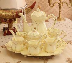 Vintage Style Tea Set (12 pcs)