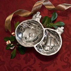 Double Ornament Candy Dish by Beatriz Ball