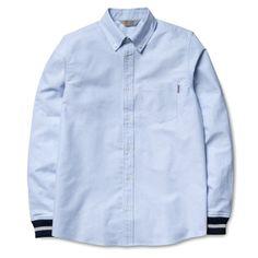 Fancy - L/S Oxford Rib Shirt by Carhartt WIP