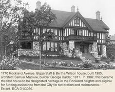 homes designed by samuel maclure in victoria bc - Google Search