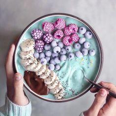 Vegan Colorful Food