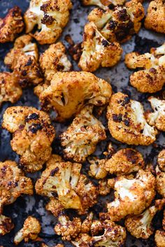 Roasted Cauliflower recipe | foodiecrush.com
