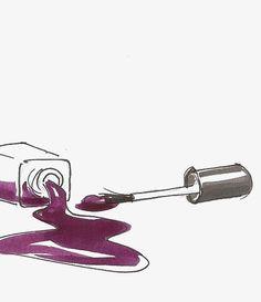 It's Mani Monday! Get your purple Cassie nails on! Nail Salon Design, Nail Drawing, Nail Logo, Nail Designer, Nail Polish Art, Collaborative Art, Nail Spa, Beauty Room, Nail Tech